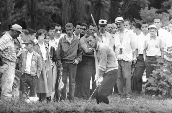 "His success and his kindness led to fans labeling Palmer as the ""King"" of the game of golf."