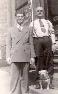 George, Tom and Pal in 1940