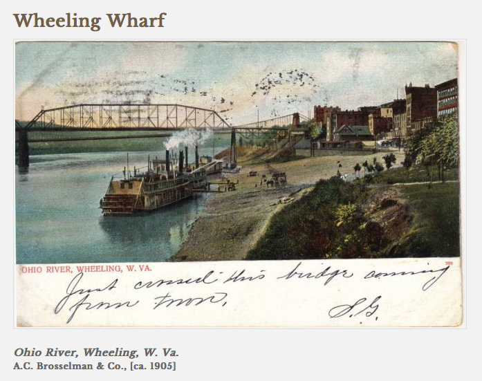 Wheeling Wharf - Photo OCPL