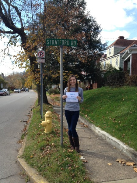 I chose the Stratford Road street sign because I live in Woodsdale. There used to be a fancy hotel near here in Woodsdale and it's hard to believe that something like this existed in my neighborhood. – Emma Romanek