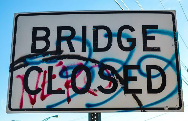 Aetnaville Bridge - closed