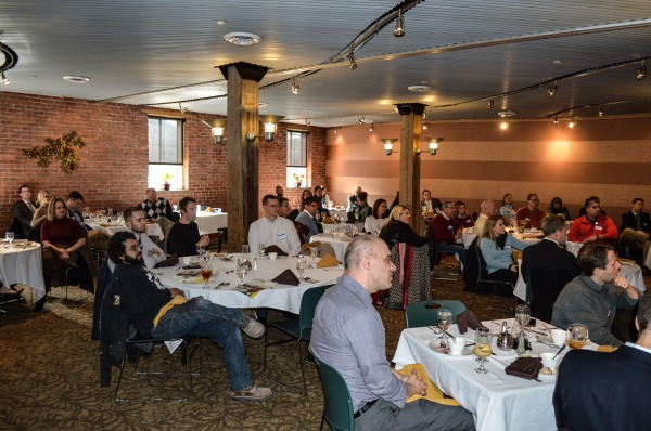 OV Connect - Lunch - crowd