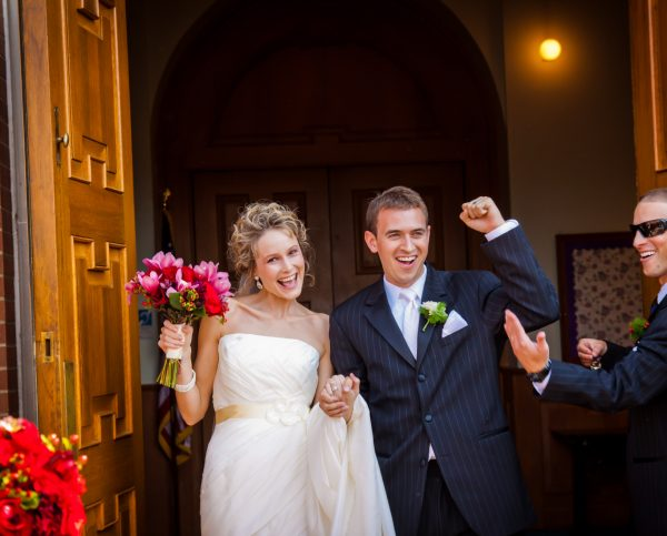 Morgan and Derrick were married at St. Vincent's in Elm Grove on Sept. 3, 2011, and the couple held their reception at the Hellenic Center in Centre Wheeling.