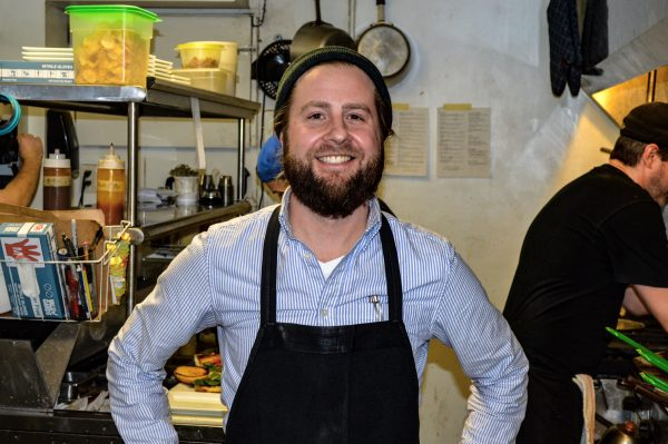 Co-owner Phillip Kendall spends most of his time in the kitchen.