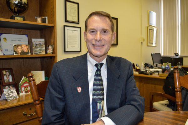 Larry Bandi, president of Wheeling Central Catholic High School.