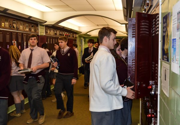 The student body of CCHS continues to don a lot of maroon and white in the high school's hallways.