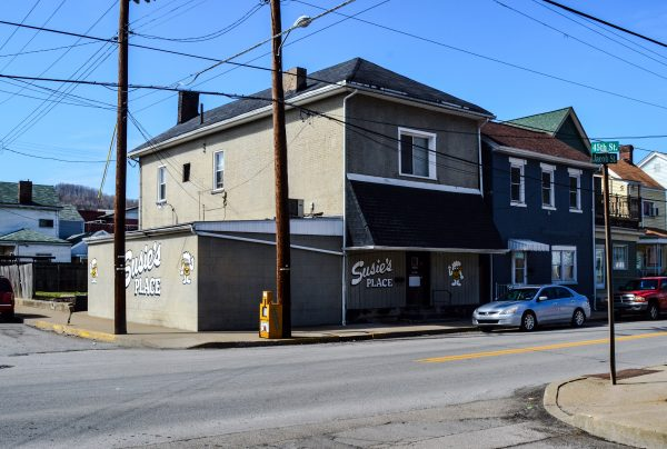 "Susie's Bar is a great South Wheeling Tavern today, but it was known as the ""Wooden Nickel"" during the days the Hankish organization the gambling action that took place inside."