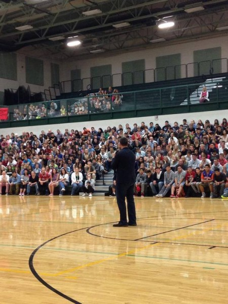Herren travels the country to deliver his most powerful message, including Sun Valley, Idaho.