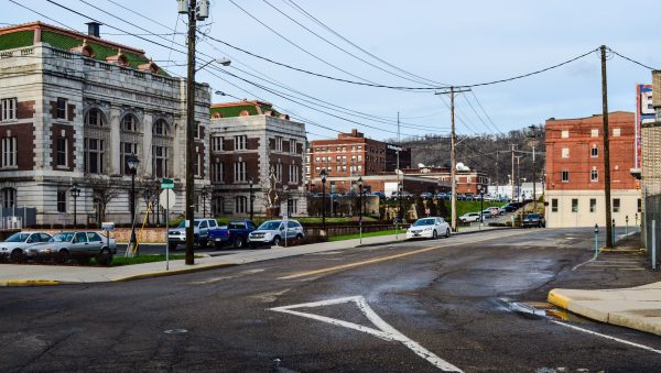 "This area of downtown Wheeling, says Rusty, was one of a few locations where ""Johns"" could be found to supply the action they craved."