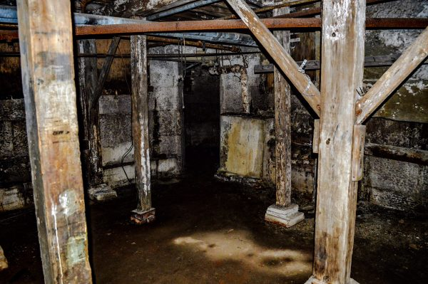 """The Hole"" in the prison's basement."