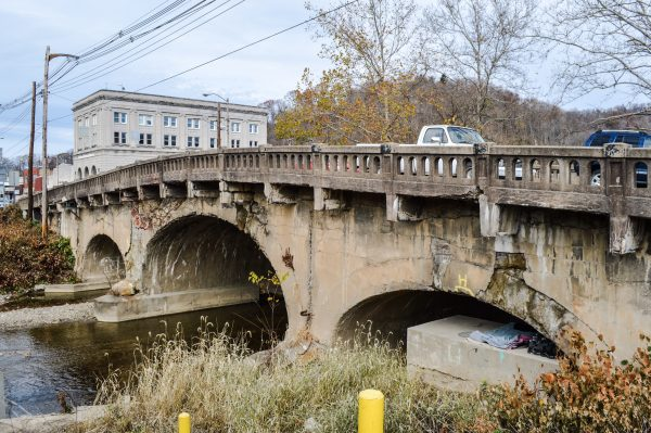 The Monument Place Bridge in Elm Grove is in dire need of attention.