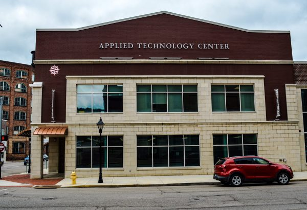 The Applied Technology Center is located at the corner of Market and 16th streets across from the B&O Building. The ATC houses the Mechatronics program along with the Petroleum Technology and Refrigeration, Air Conditioning and Heating Technology.