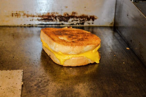 The Cheese Melt is all about the grilled cheese.