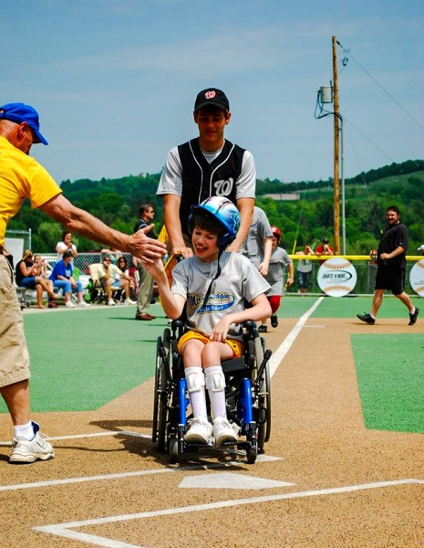 Austin's initial dream involved football, but he's enjoyed his time on the Miracle League Field just as much.