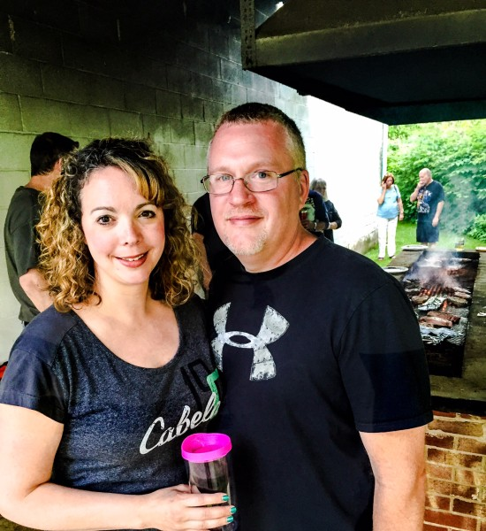 Sean and Jodi Padrat of Cranberry, Pa., had never attended a steak fry before this past weekend.