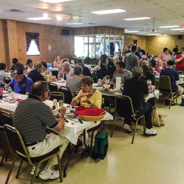 Many different banquet halls in the Upper Ohio Valley are utilized for steak fry events.