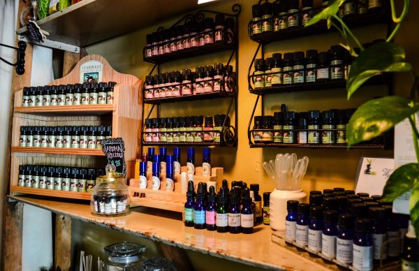 Natural oils can be used for aroma therapy as well as for ailments such as arthritis.