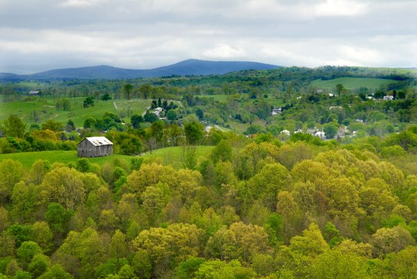 Walnut Springs Mountain Reserve, near Union in Monroe County, West Virginia