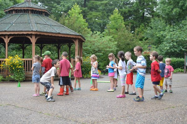 Hundreds of day campers can be found on the Oglebay grounds each week day during the summer months.