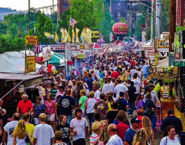 More than 100,000 patrons visit the annual Italian Festival between Friday and Sunday.
