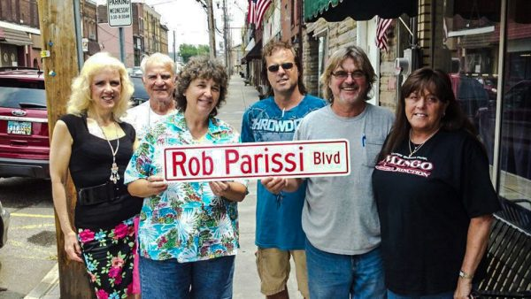 Mingo Junction recently honored Parissi with a street named in his honor.