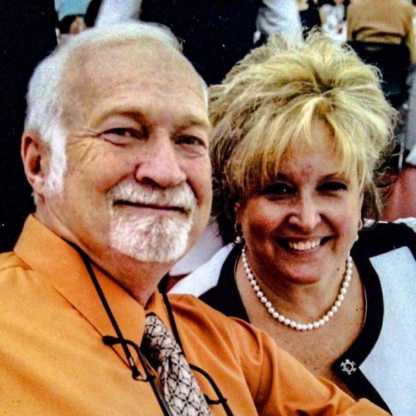 """Robert """"Bo"""" McConnaughy and his wife, Kim."""