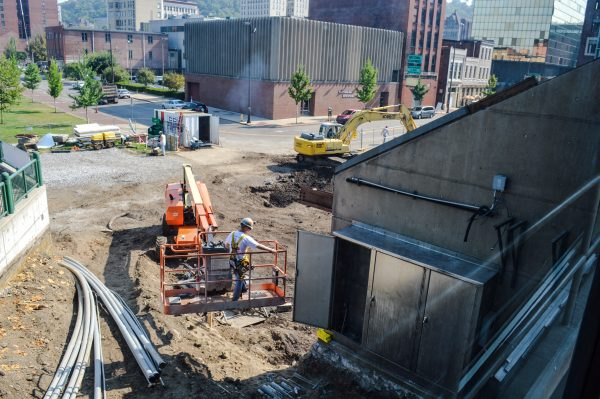 The front area along 14th Street appears very different than what local residents have seen for the past 38 years.