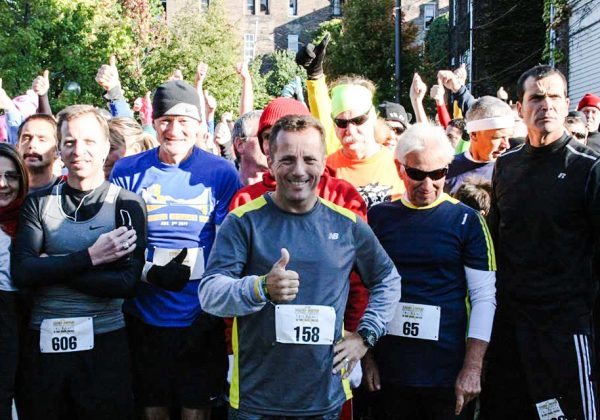 """Green helped the Rotriga family with organization an October race that benefited the """"Hopes for HInes"""" effort."""
