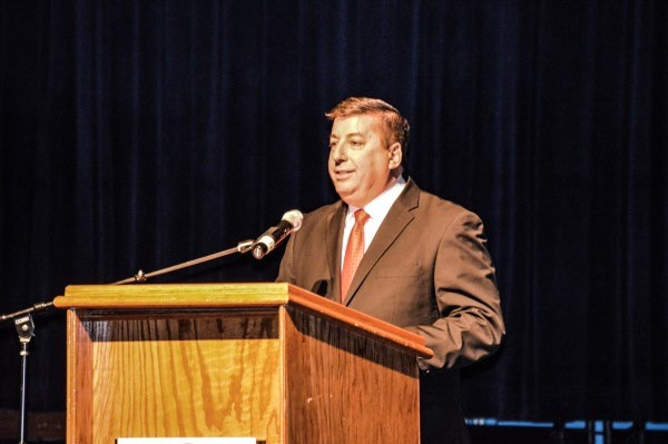 Fahey was the host for the 2015 State of the City Address at Wheeling Island Hotel, Casino & Racetrack in February.