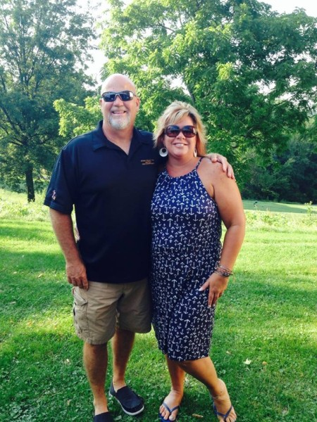 Dave and Tammy have been married for 11 years.
