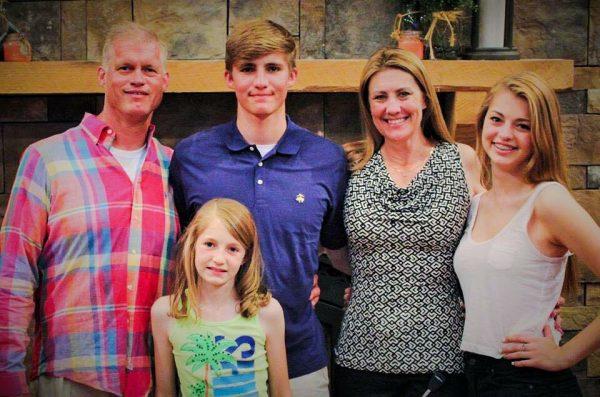 The Storch Family - Tom, Payton, Seth, Erikka, and Alexis.
