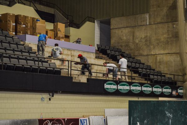 The multi-million-dollar renovation project at Wesbanco Arena were made possible by the implementation of a sales tax within city limits.