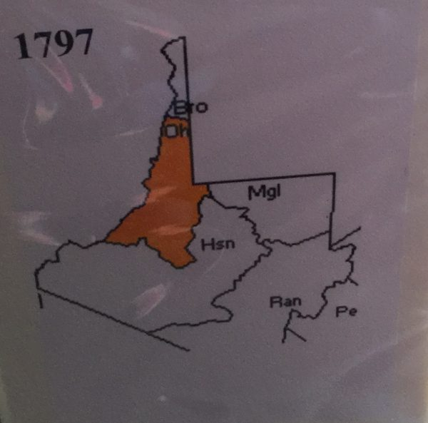 Ohio County was once incredibly large, covering much more area than it does today.