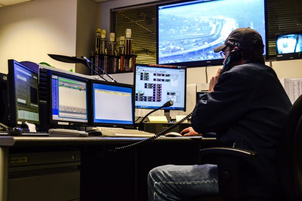 Local resident John Knight works as an Ohio County dispatcher and has been trained to handle any situation connected to the pipeline network.