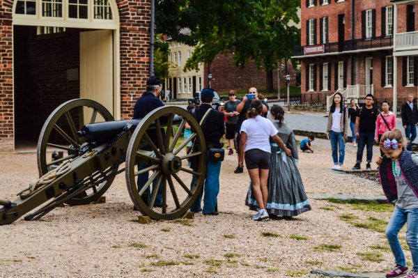The history of the Civil War is celebrated every single day in Harpers Ferry.