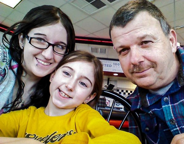 Amy, her daughter Ashlyn, and her father Brian have reunited since she entered recovery nearly two years ago.