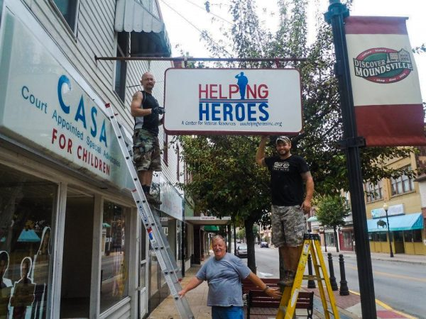 Helping Heroes is located along Jefferson Avenue in Moundsville.