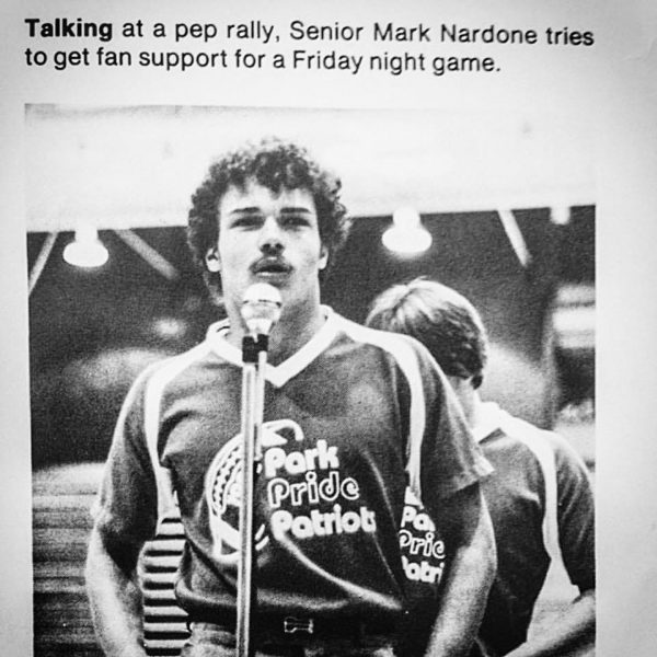 Before he was a coach, the head coach, and the assistant athletic director, Mark Nardone was a standout football player for Wheeling Park and then West Liberty University.