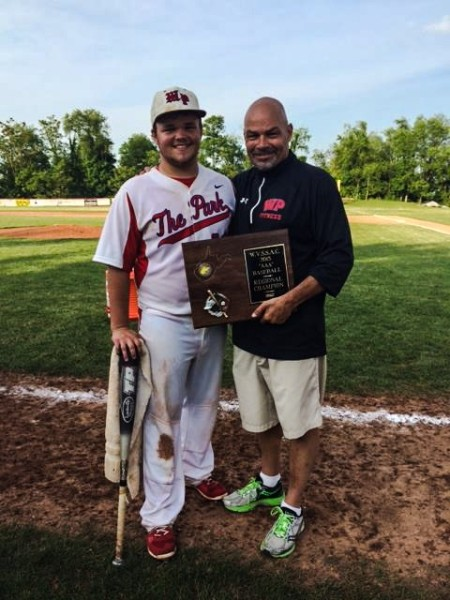 Nardone is known best as a one of the best football minds in the Upper Ohio Valley, but he also coached his son Nick for many seasons in Warwood.