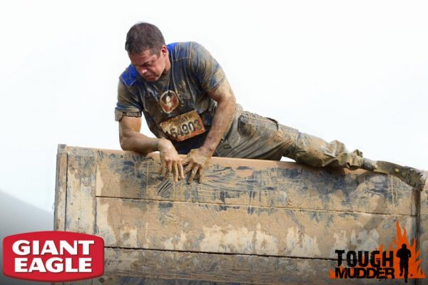 The Tough Mudder is more of an obstacle course than a race.