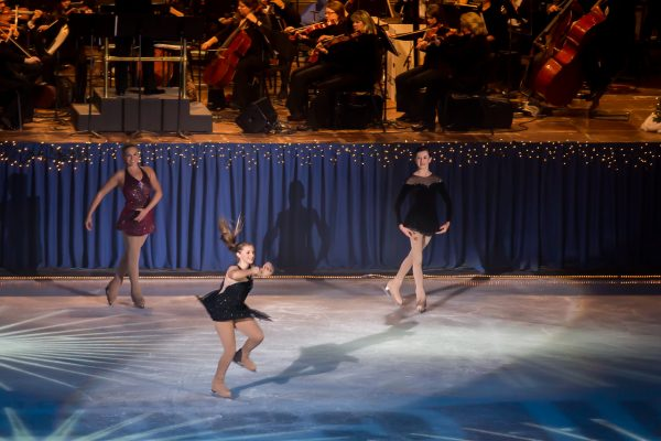 As many as 50 skaters will participate in Symphony on Ice.