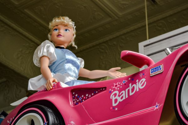 Barbie dolls have been made in many shapes and sizes, so has her pink Corvette.