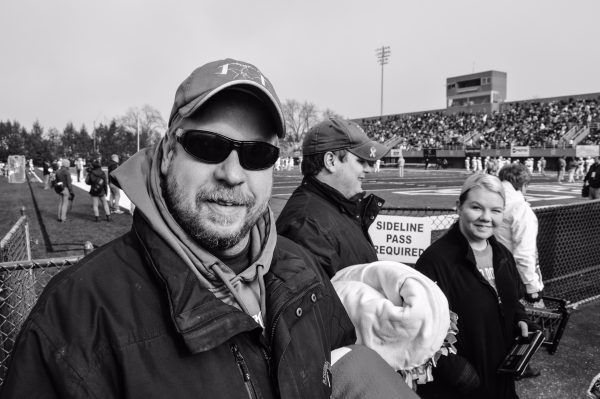 Bishop Donahue John Durdines attended Wheeling Park's victory.