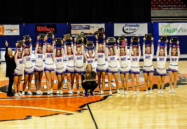 For a second straight year, the West Virginia Class AAA state cheering champions hailed with Wheeling Park High.