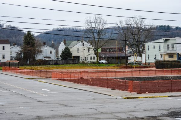 The area on which St. John Church stood is now ready for new construction.