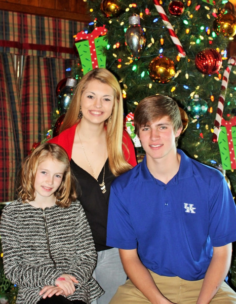 The Storch children - Payton, Alexis, and Seth.