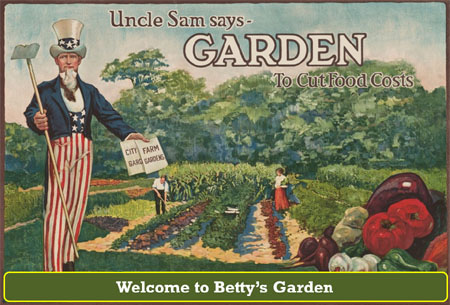 Welcome To Bettys Garden