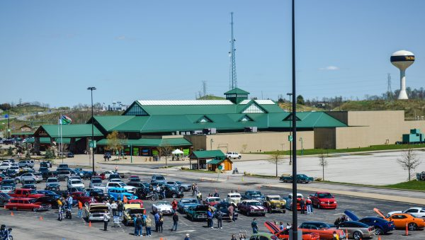 Cabela's Outfitters was the first retailer to open at The Highlands.