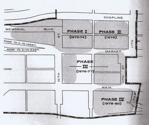 Construction of the Fort Henry Mall would have taken nearly a decade according to the original plan released by the Urban Renewal Authority.