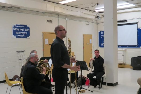 WSO Brass Quintet at RCMJC